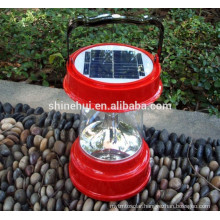 Big capacity battery solar led lantern with cell phone charger with tarde assurance