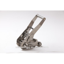 Alibaba hot sale 2 inches Stainless Steel Ratchet strap