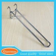 Length 150mm wire mesh gird double metal hanger hooks