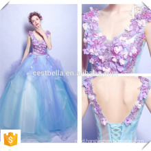 Top Quality Chic Style Elegant Colored Bridal Dress China Custom Made OEM Ball Gown Wedding Dress