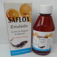 Emulsión / jarabe de la vitamina de la fruta