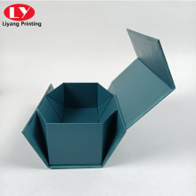 excellent folding magnetic box with ribbon watch box