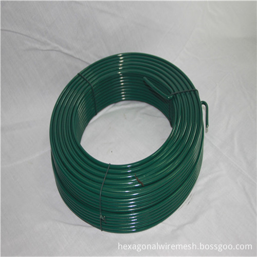 Plastic Coated Tension Iron Wire