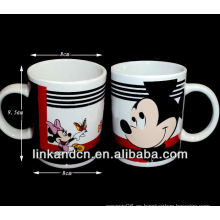Taza de cerámica con el logotipo animal fantástico