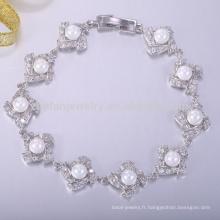 Bracelets de perle de bracelet de bijoux de perle