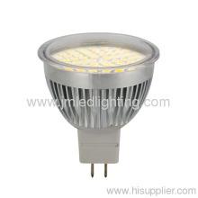 4.5w 420lm Gu10 Led Spot Light Diameter 50mm Aluminium Cup