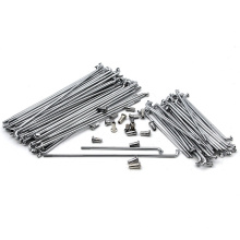 Wholesale 40pcs Ural CJ-K750 Motor Front and Rear Stainless Steel Rim Wheel Spokes Kit Set for BMWS R12 R75 R72 M1 M72  MW750