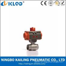 Baixo preço Ningbo Manufactory Aço inoxidável parafusado 2 PC Ball Valve
