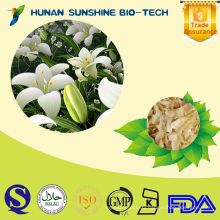 2015 hot new product sulfur-free officinal dried lily