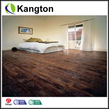 Tablón de suelo de PVC de madera comercial de 4-6mm (tablón de suelo de PVC de madera)