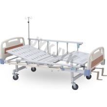 Cuidado manual de dos funciones Cama de hospital