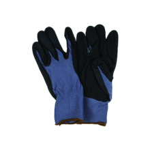 13G Polyester Liner Handschuh mit Nitril beschichtet mit Sandy Palm