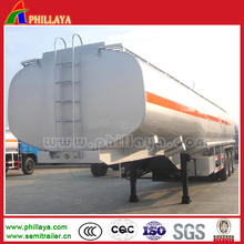 27 Cbm 2 Axles Fuel Storage Tank Truck Semi Trailer