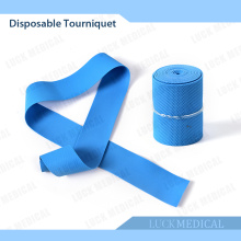 Elastic Medical Synthetic Latex freie Tourniquet Schnalle