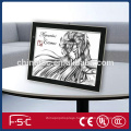 Good quality led cartoon animation light box animation tracing board