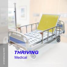 Lit d'hôpital ICU de quatre manivelles Manuel Zhangjiagang (Thr-MB558