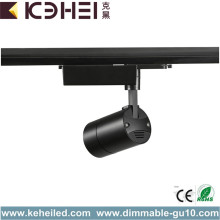 Black Modern Track Lighting 20W LED Tracklight