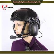 XX anti bullet helmet with communication system