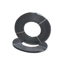 galvanized banding 32mm steel strapstrip with bluing or black painted waxed automatic packing 34 metal strap