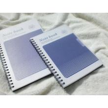 Cuadernos de espiral de cubierta de PP / Material de oficina