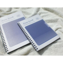 PP Cover Cahiers à spirale / Fournitures de bureau