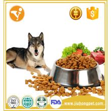 Fábrica de vendas de alto nível de peixe orgânico sabor seco comida para cães