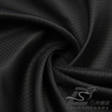 Resistente al agua y al aire libre ropa deportiva al aire libre chaqueta tejida tejido jacquard 100% poliéster de filamento (53122)
