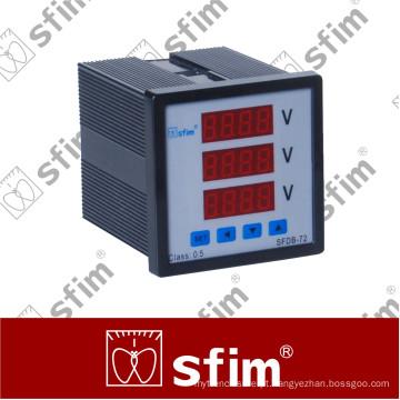 Medidor combinado digital programável série Sfdb (SFDB-72X3-3U)