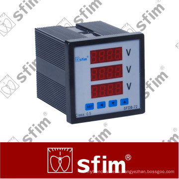 Sfdb серии Программируемый цифровой комбинированный метр (SFDB-72X3-3У)