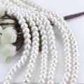 11mm Großer Abgleicher runder natürlicher Süßwasser voll gebohrter Perlenschnur