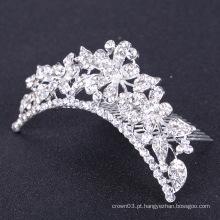 Casamento jóias strass nupcial cabelo pente nupcial cabelo acessórios