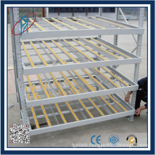 China Warehouse Automatic Cold Steel Structure Pipe Gravity Flow Rack
