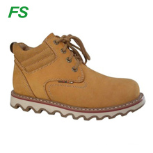High quality Leather Army safety work boot