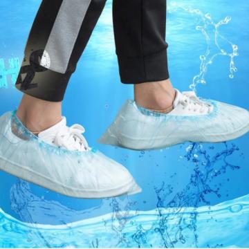 Atmungsaktive, staubdichte, rutschfeste Schuhüberzüge aus Gummiband