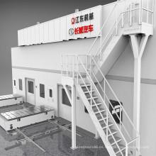 Prensa de estampado en caliente de acero de alta resistencia (aluminio)