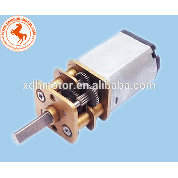 12mm DC Getriebemotor für Elektroschloss, 12mm 6V 12mm 12V DC Getriebemotor kann mit Encoder ausgestattet werden