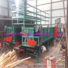 High Efficiency Wood Peeling Machine with Double Slot