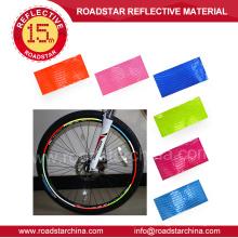Pegatinas de bicicleta reflectantes de seguridad de gran calidad