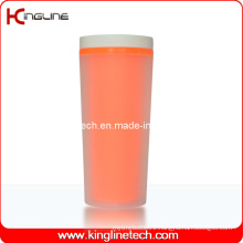 400ml Plastic Double Layer Cup Lid (KL-5009)