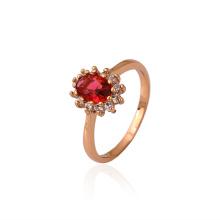 Лучшее качество Xuping Элегантный овальный благородных ювелирные изделия Обручальное кольцо