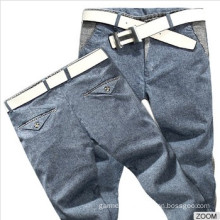 New Stylish 100%Cotton Men Pants Casual Slim Fit Pants