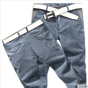 New Stylish 100%Cotton Men Pants Casual Slim Fit Pants