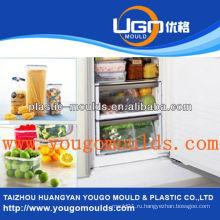 Кухонная корзина литьевые формы поставщик инъекционная корзина плесень в тайчжоу zhejiang china