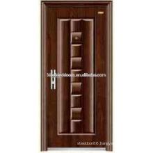 Hot Sale in Africa Steel Security Door KKD-551 For Residential Entry Door