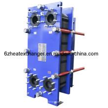 Intercambiador de calor de placas de alta eficiencia A4m para refrigeración por aceite (igual a M10B / M10M)