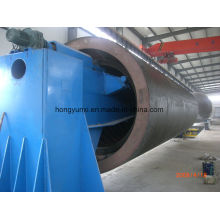 Machine d'enroulement horizontale pour la fabrication de réservoir ou de navire de FRP