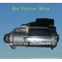 Bus starter motor for Yutong and Kinglong / bus spare parts