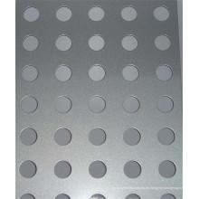 Malla de metal perforada de acero inoxidable de la fábrica
