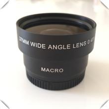 37 milímetros 0,45x lente grande angular de alta definição e lente macro para nikon dslr slr camera