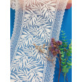 New design stretch leaves lace trims lingerie